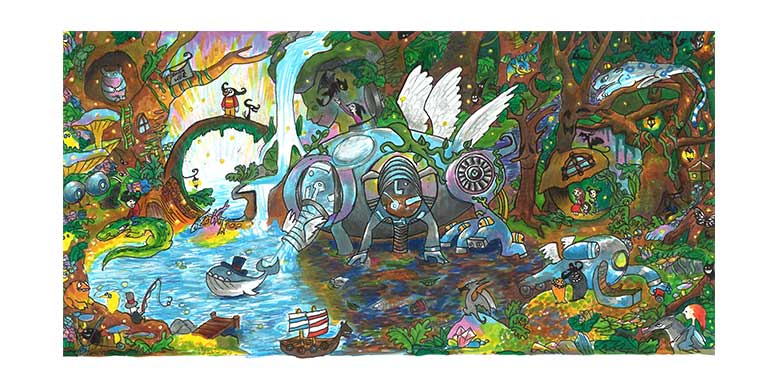 There's No Place Like Homepage: NY Student's Art Contender for Google Competition