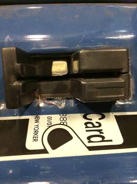 Friday Fraud: Secret Skimming Device Found on Columbus Circle MetroCard Machine