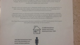 Pro-Palestinian Group Serves Fake Eviction Notices to Jewish NYU Students