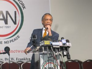 The Rev. Al Sharpton responding to the allegations today.
