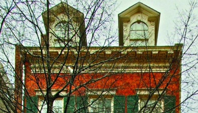 The Merchant's House museum.
