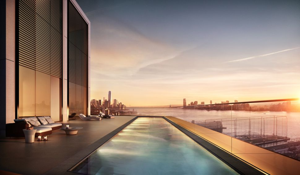 Go Swimming in Your Own Sky Pool: a Penthouse Reveal at 551 West 21st Street