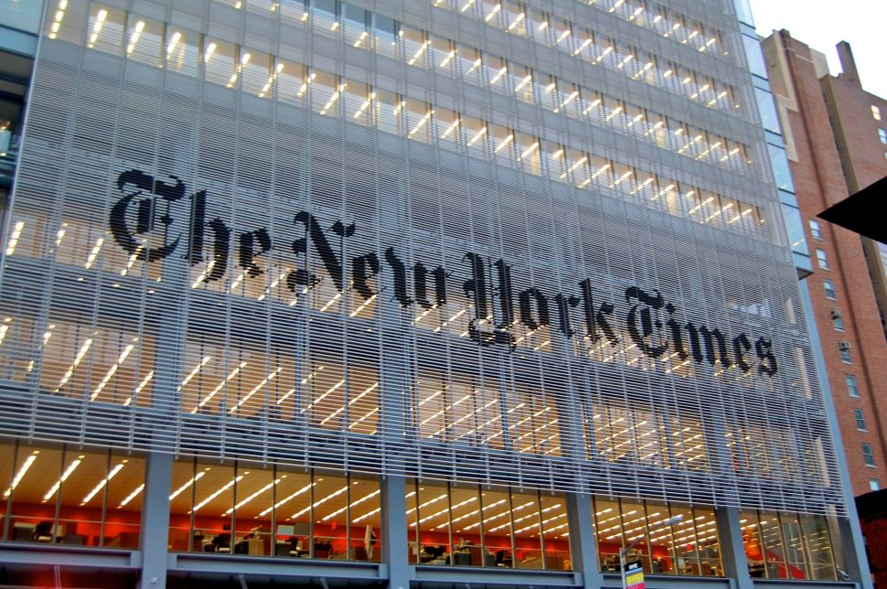 The New York Times Displays Healthy Self-Confidence During NewFronts Presentation