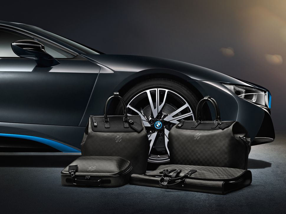 BMW and Louis Vuitton take to the road