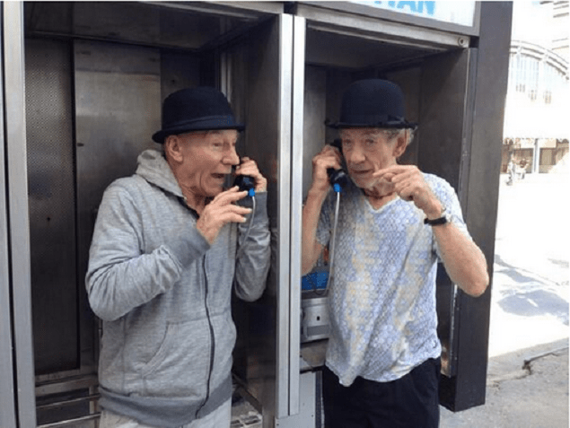Patrick Stewart and Ian McKellen's Month-Long Twitter Adventures Come to an End