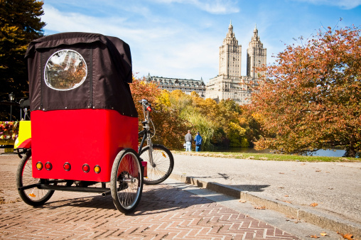 City's Only Female Pedicab Driver Harassed by Peers