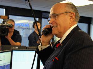 Rudy Giuliani. (Photo: Mike McGregor/Getty)