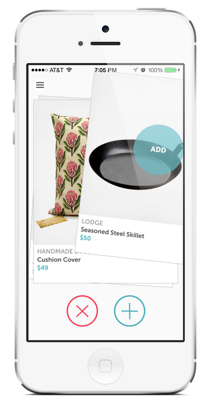 Zola's New App is Basically Tinder For Wedding Gifts