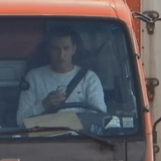 Oh, Good: Truckers Caught Texting and Driving on Camera