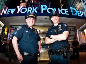 Your friendly neighborhood Time Police. (Photo via Eneas De Troya)