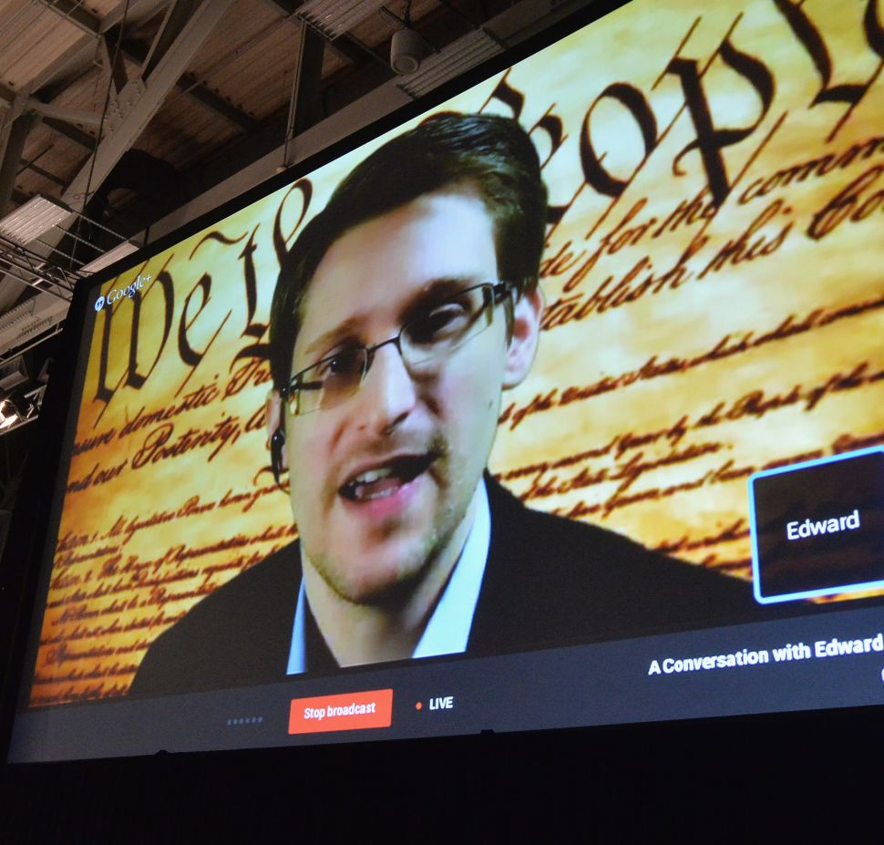 Neither Hope for an Obama, Nor Fear a Trump, Snowden Said Today