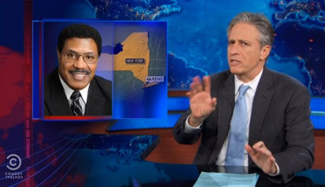 Last night's Daily Show.