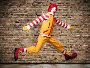 The new Ronald McDonald. (McDonald's)