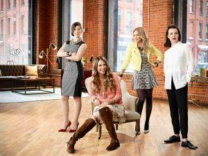 Miriam Shor, Sutton Foster, Hilary Duff, Debi Mazar. (TV Land)