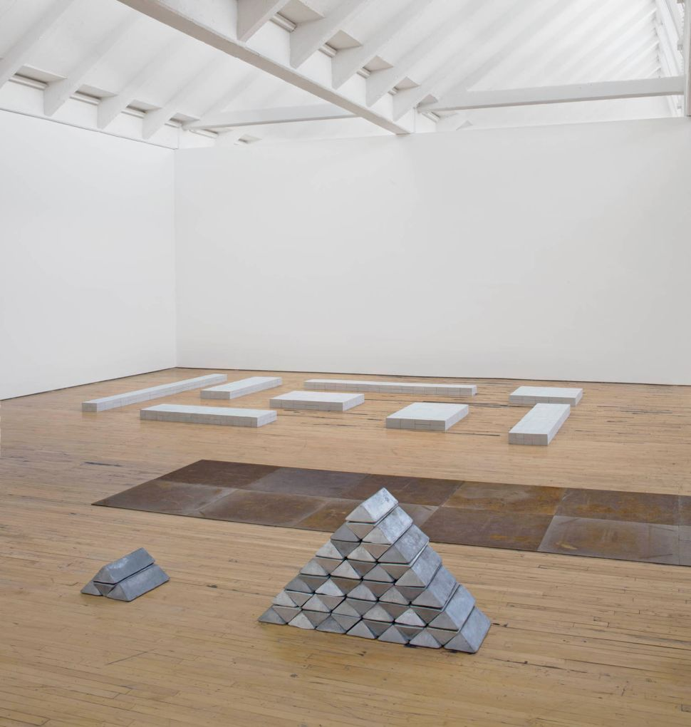 'Carl Andre: Sculpture as Place, 1958–2010' at Dia:Beacon