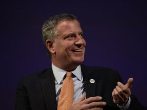 Mayor Bill de Blasio. (Photo: NYC Mayor's Office)