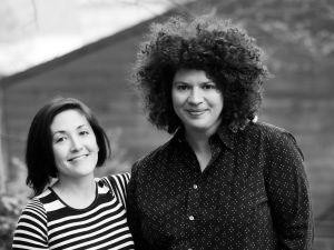 Grace Bonney and Julia Turshen (Photo courtesy of Unusually Fine)