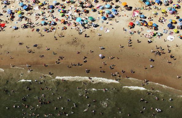 Life's a Beach: New Yorkers Discover They're Surrounded by Water