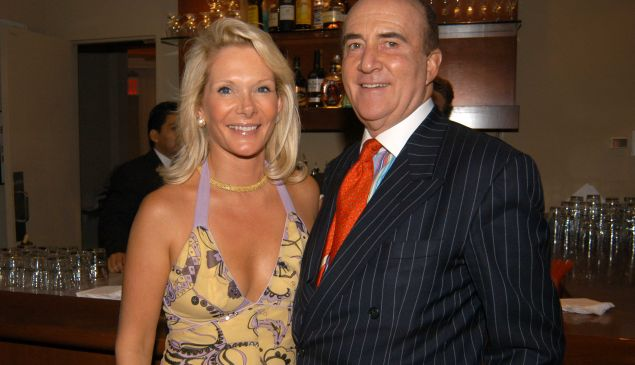 Caroline and Nicholas Toms. (Patrick McMullan)