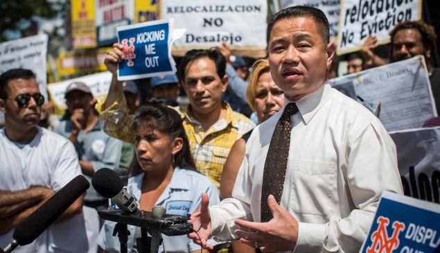 John Liu. (Photo: Andrew Burton/Getty Images News)