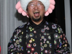 Murakami at Miami Basel in 2013. (Getty Images)