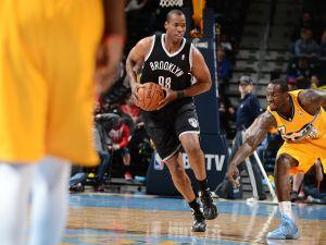 Jason Collins of the Brooklyn Nets ( Garrett W. Ellwood/NBAE via Getty Images))