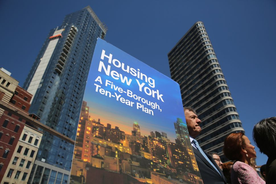 Borough Presidents Tear Into de Blasio Housing Plan