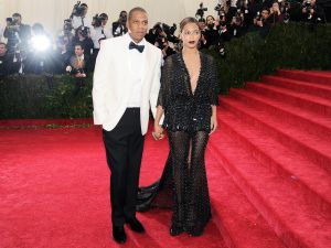 Beyonce and Jay Z at last week's Met gala (Patrick McMullan)