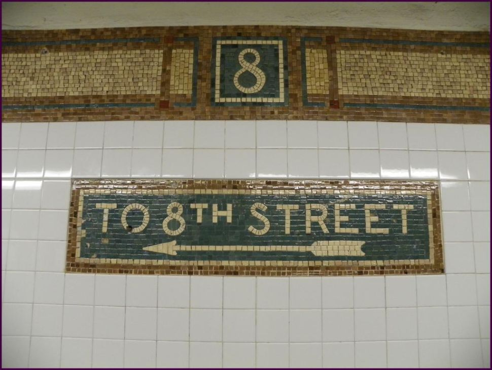 Sign of the Times: Williamsburg Man Archives Every Manhattan Station's Mosaic Art