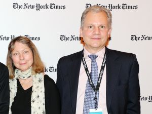 Jill Abramson and Arthur Sulzberger.