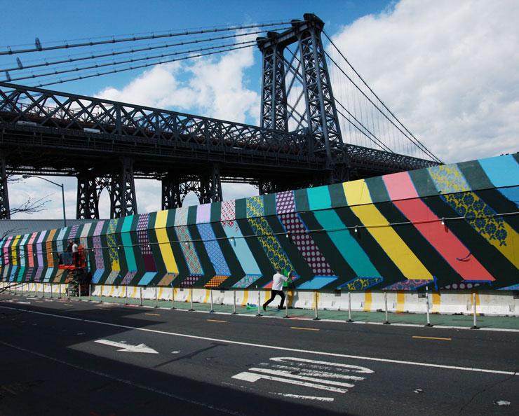 The Art of Development: Street Artists Surround Domino Sugar Site With Murals