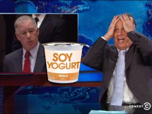 Jon Stewart continues his disbelief. (screengrab