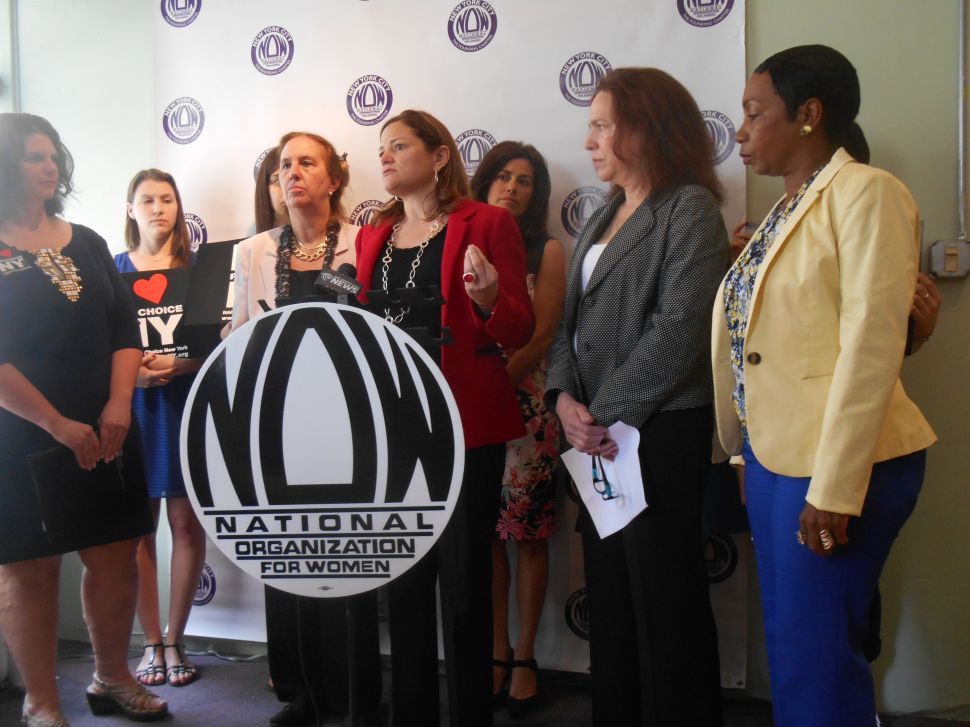 Prominent Pols and Women's Groups Trash Cahill Candidacy