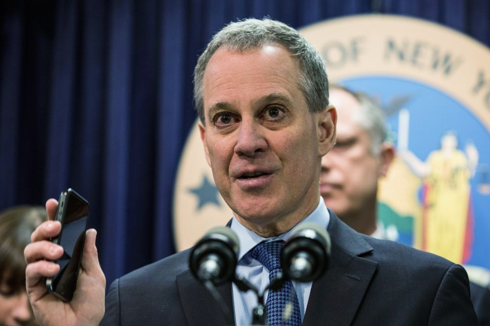 Eric Schneiderman Announces 'Largest Settlement in American History'