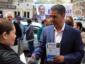 State Senator Adriano Espaillat. (Photo: Copyright 2014, Jon Reznick/Espaillat for Congress)