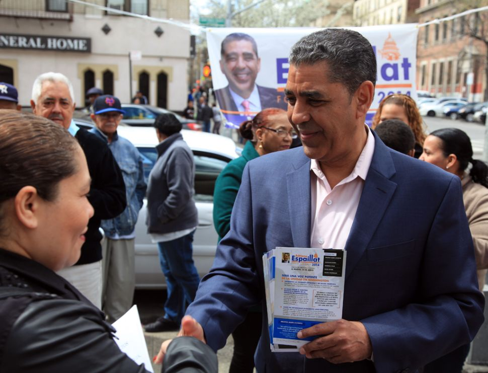 De Blasio Gets Behind Espaillat in Re-Election Fight