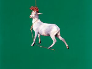 'Goat,' 1985. (Courtesy the artist and Maccarone)