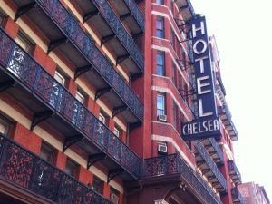 The famous Hotel Chelsea.