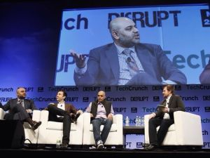 Mr. Chhabra at the TechCrunch Disrupt Conference.