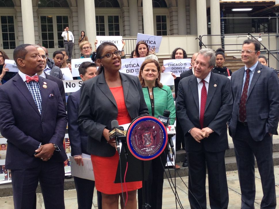 Tish James Continues Her Crusade for Universal Free Lunch