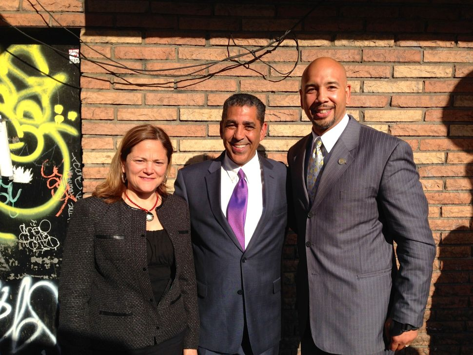 Adriano Espaillat Courts Crucial East Harlem Voters