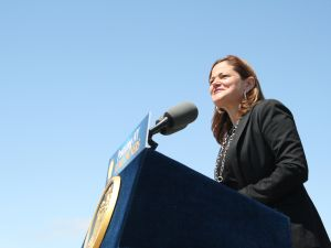 Council Speaker Melissa Mark-Viverito. (Photo: Vanessa Ogle)
