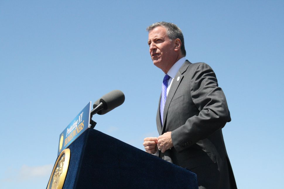 Conservation Group Wants Stronger Environmental Focus From Bill de Blasio