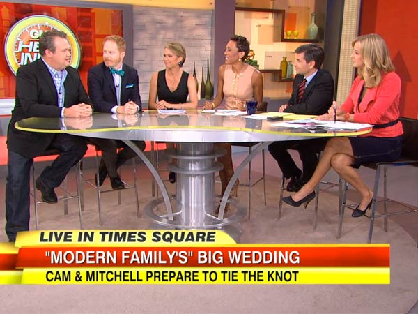 Modern Love: 'Modern Family' to Pay for ALL NYC Marriages Today