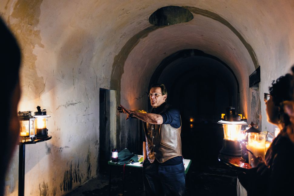 Partying in Greenwood's Catacombs with Philippe Petit
