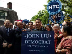 John Liu today. (Photo: Liu Campaign)