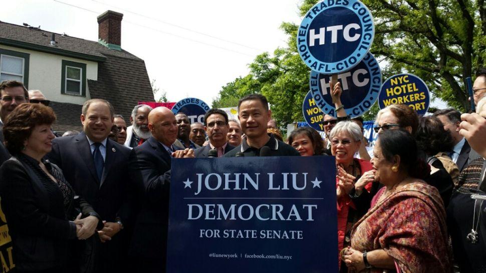 John Liu Seeks Political Redemption With State Senate Bid