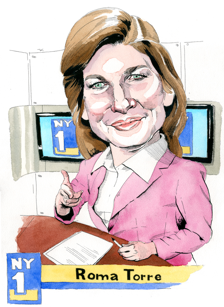 "NY1's Roma Torre on Local News, Radio and the ""Glamour Thing"""