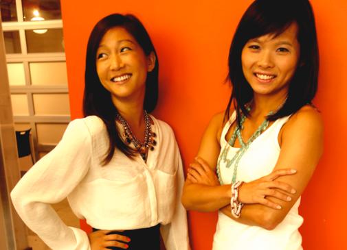 Keaton Row cofounders Cheryl Han and Elenor Mak. (Photo via Keaton Row)