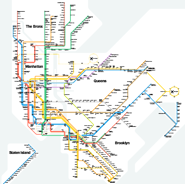 Famed NYC Subway Map Designer Massimo Vignelli Dies At 83